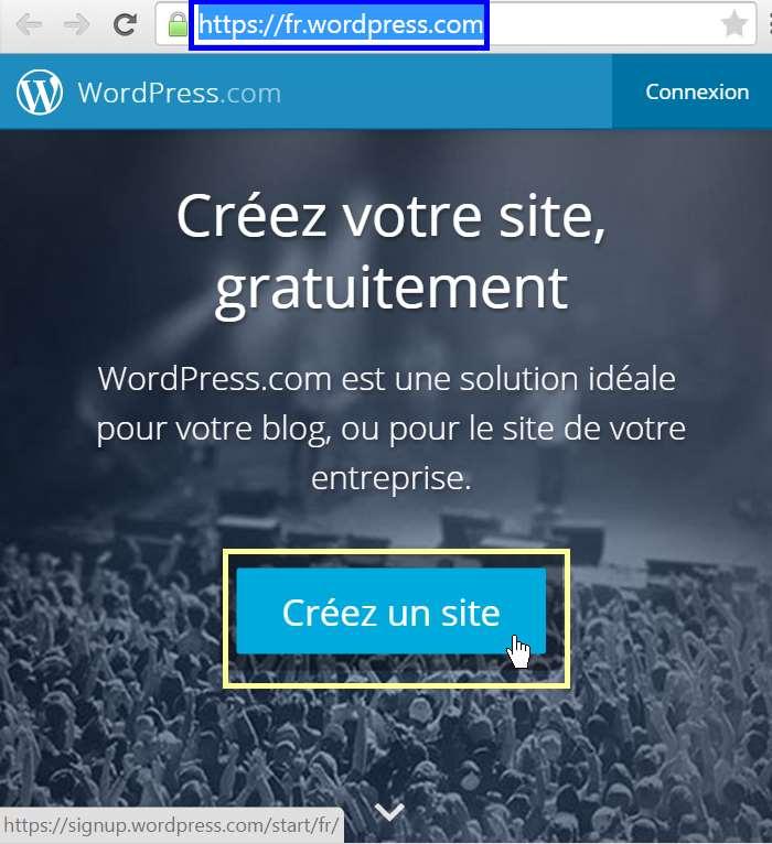 wordpress.com - créez un site